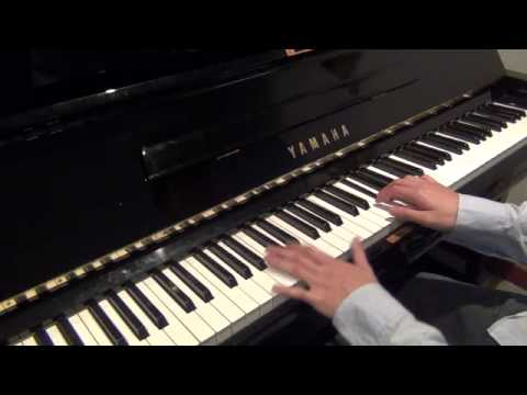 Plain White T's - Hey There Delilah (piano cover) improved version