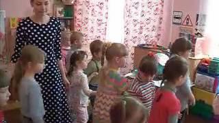 Открытый урок в детском саду.Кинешма №8