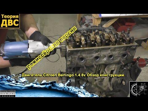 Унылая Команда: Двигатель Citroen Berlingo 1.4 8v (режиссёрская версия)
