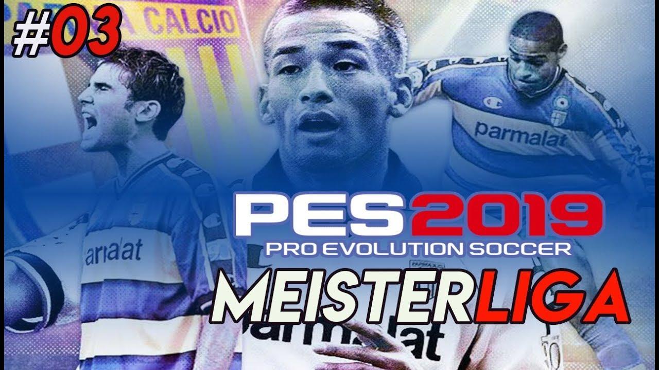 PES 2019 Meisterliga PARMA CALCIO  03 ⚽ Punkte   Transfers ⚽ Pro Evolution  Soccer 2019 7456e7717b334