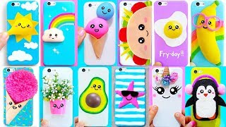 15 DIY PHONE CASES (Kawaii Edition) | Easy & Cute Phone Projects & iPhone Hacks