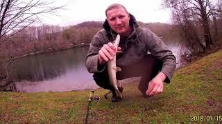 Отдых от короновируса Щука озеро рыбалка Сочи твичинг речка природа