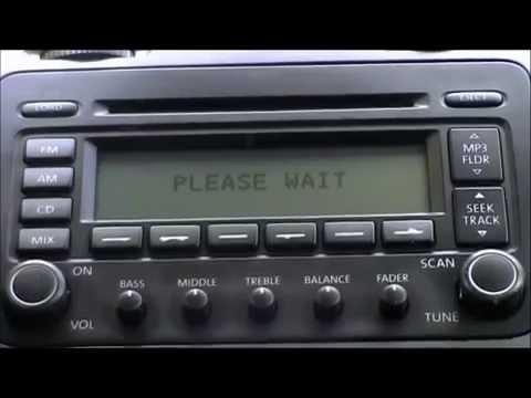 CD HARDWARE ERROR VOLKSWAGEN