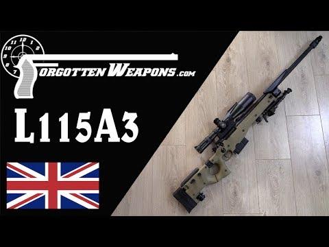 Arctic Warfare Magnum: Accuracy International L115A3