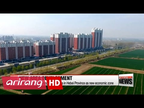 Real estate investment surges as China announces new special economic zone