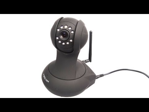 Foscam Wireless IP Camera FI8916W Set-up and demo.