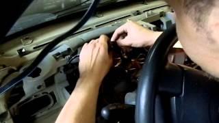 установка сигнализаций в автомобиль(установка сигнализации с автозапуском в автомобиль Renault Symbol., 2015-08-26T11:39:43.000Z)