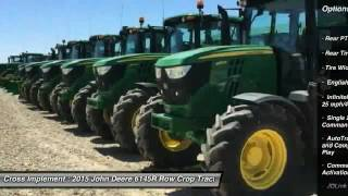 2015 John Deere 6145R Minier, Springfield, Bloomington, and Peoria, IL