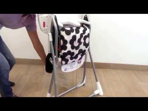 How to fold a Cosco High Chair  Doovi