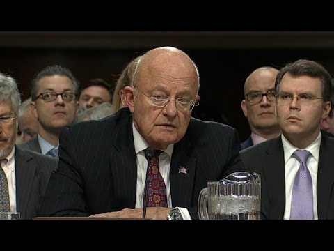 Director of National Intelligence James Clapper on impact of fake news stories