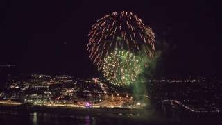 Fireworks by Drone as Santa Cruz Celebrates 150 Years