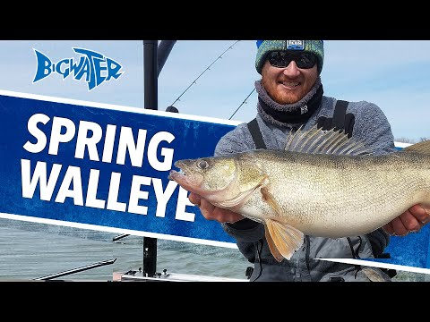Walleye Fishing Around The Lake Erie Islands - Bigwater Fishing
