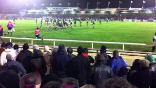 Connacht V Harlequins 20th January 2012 last four mins of t