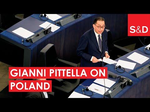Gianni Pittella on Poland
