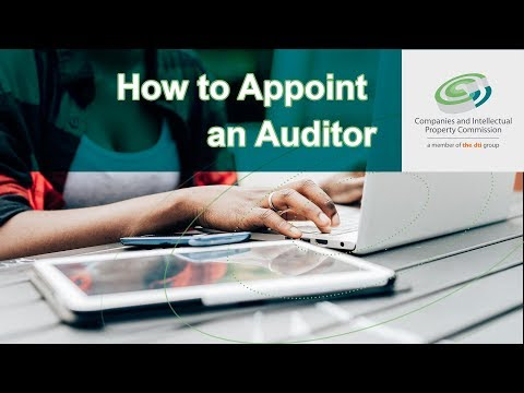 How to Appoint an Auditor