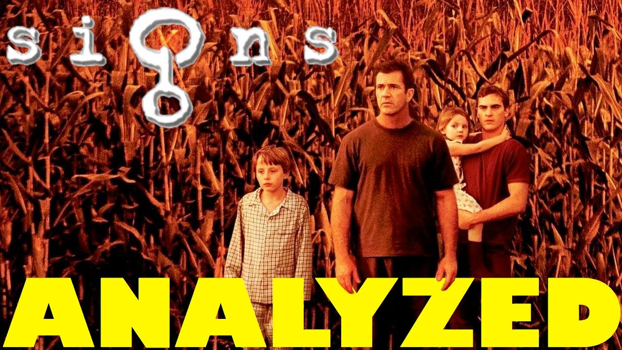 a review of the mel gibson movie signs by m night shyamalan Get biography information about m night shyamalan on he had a larger part in signs as a dazed neighbor of mel gibson who has the movies --shyamalan.