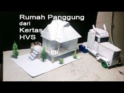 How To Make The Stilt House Paper