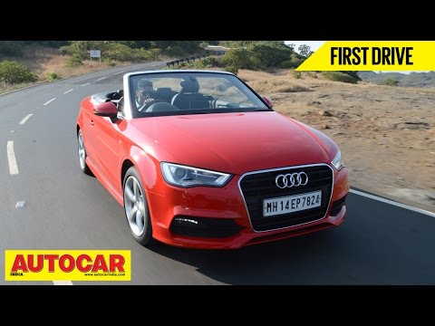 Audi A3 Cabriolet  First Drive  Review  Autocar India