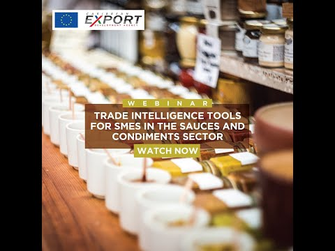 Trade Intelligence Tools for SMEs in the Sauces and Condiments Sector
