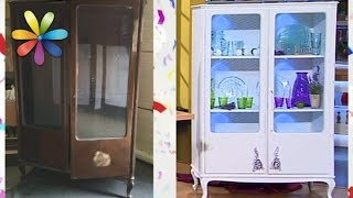 видео Шкафы для одежды в стиле Прованс