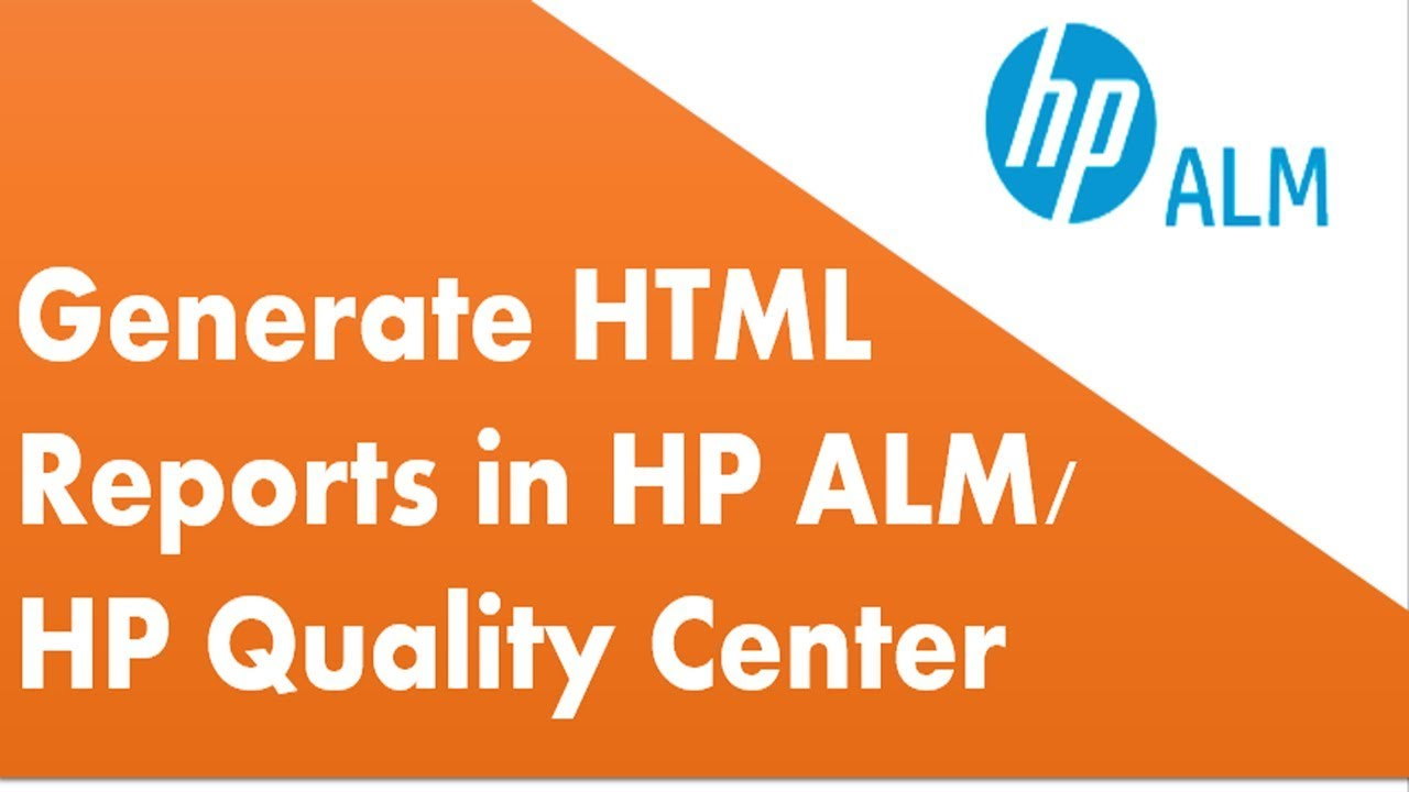 quality center tutorial hp quality center reports youtube