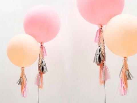 cmo hacer globos divertidos para fiestas