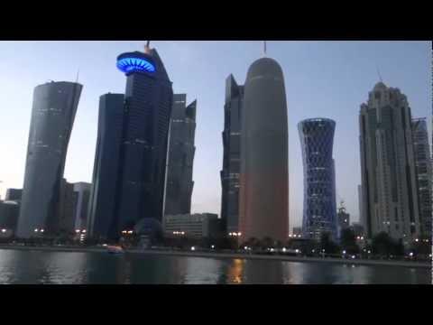 Doha, Qatar - Downtown and Dhow Cruise HD (2013)