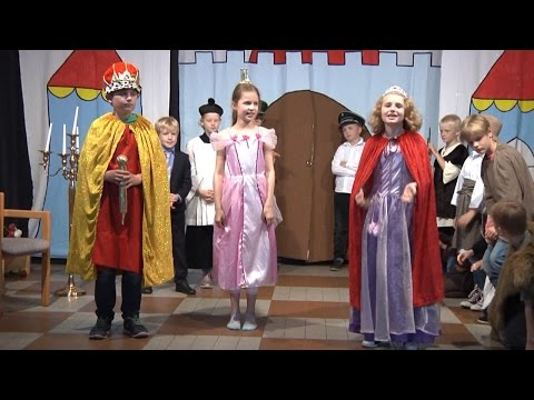 Musical Dornröschen an der KvG Grundschule Merfeld