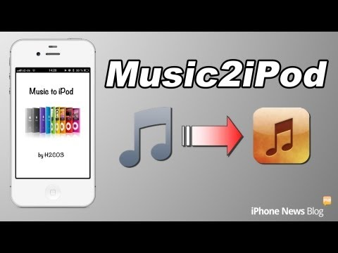 Musik und Videos in die iPod App importieren ohne PC iOS 6