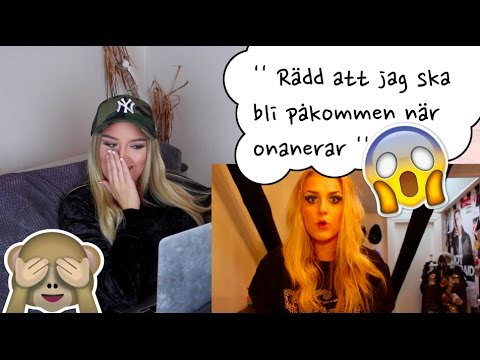 REAGERAR PÅ MINA GAMLA VIDEOS