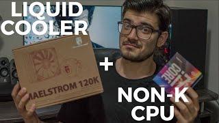 installing my First Liquid Cooler - Deepcool Maelstrom 120k