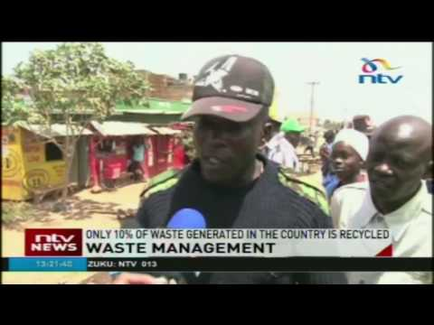 Kenya lacks awareness on waste management