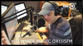 ALLAN BRANDO  OX105FM RADIO INTERVIEW WITH DJ WHITE MAGIC (OXFORD)