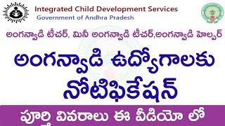 Anganwadi jobs recruitment notification 2019 | anganwadi teacher, helper notification 2019