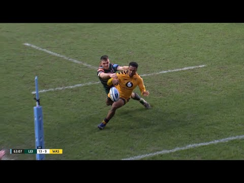 Ben White's try-saver at Welford Road