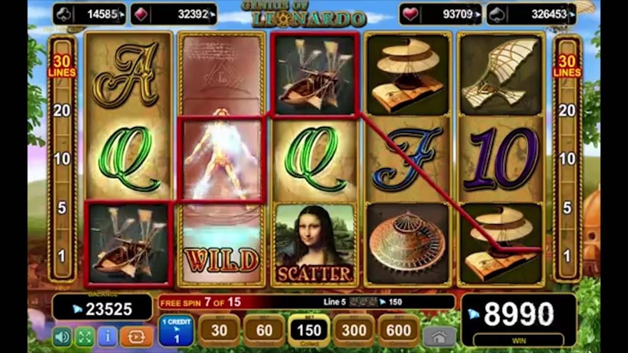 Spiele Genius Of Leonardo - Video Slots Online