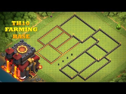 Best TH10 Farming Base 2018 | Clash Of Clans | THE BEAST