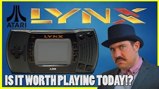 Atari Lynx - Worth Playing Today?  - Full History, Review and Retrospective! - Top Hat Gaming Man