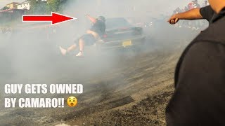 Gambar cover CRAZY CAMARO HITS GUY!! CRAZIEST OAKLAND SIDESHOW!