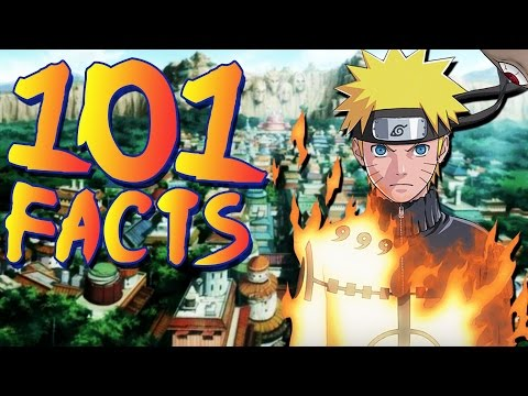 101 Facts You Probably Didn't Know About Naruto and Naruto Shippuden! (101 Facts)