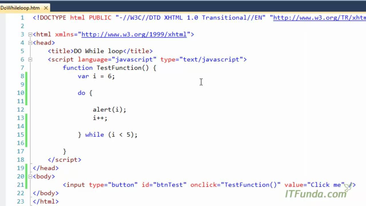 JavaScript Looping