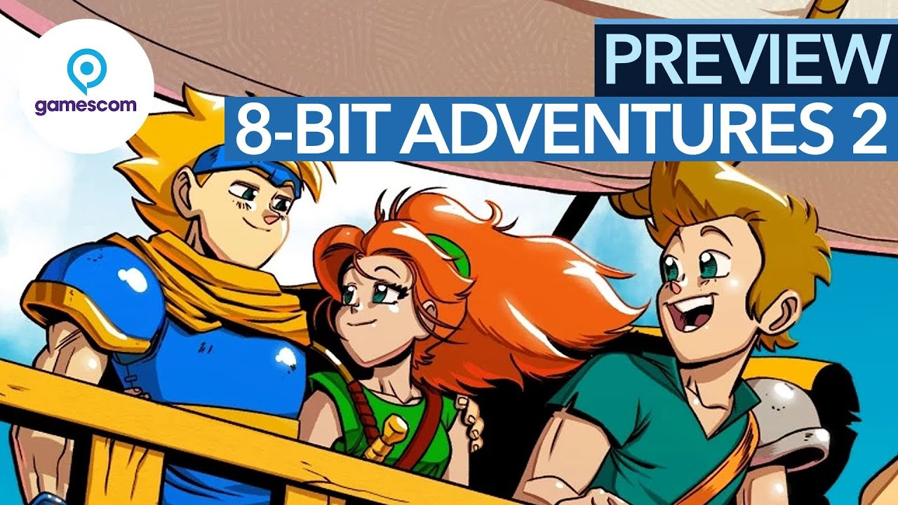 8-Bit Adventures 2 Trailer Premiere at Gamescom 2020!