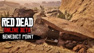 Red Dead Online - Benedict Point Treasure Map Location Guide (Easy Gold & Money)