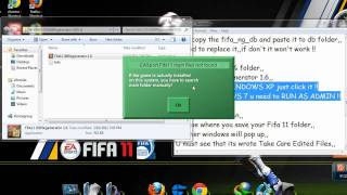 Fifa 11 Pc Update Roster Tutorial