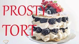 Szybki i prosty tort z bitą śmietaną | Ugotowani.tv HD