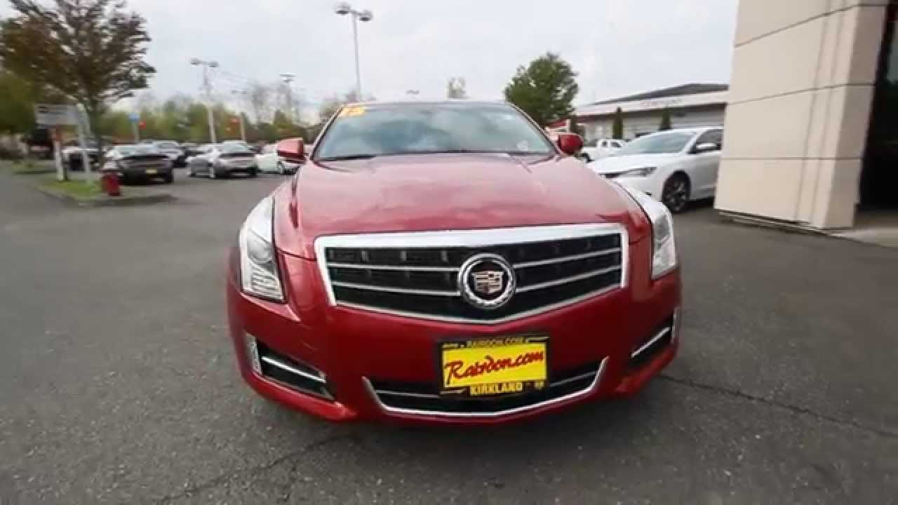 2013 Cadillac Ats 2 0 L Turbo >> 2013 Cadillac Ats 2 0l Turbo Premium Crystal Red Tintcoat