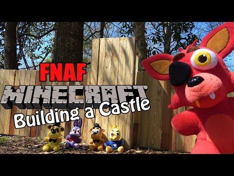FNAF plush Minecraft 37 – Building a Castle!
