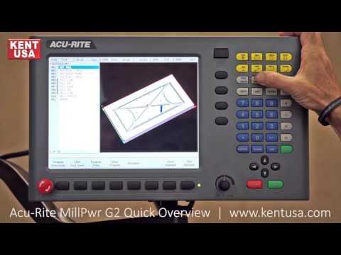 Kent USA Acu Rite MillPwr G2 Quick Overview