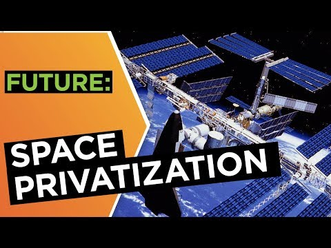 Who is leading the private space race? | Peter Ward