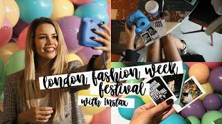 London Fashion Week Festival Vlog |  Copper Garden